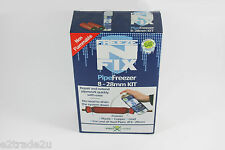 Pipe Freezing Spray 'N' Fix Kit with Spray, Pipe Jackets, Cable Ties FNFK
