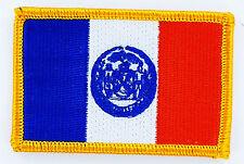AUFNÄHER Patch FLAGGEN flagge NEW YORK USA STAATEN flag Fahne 7x4.5cm