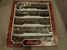 LILIPUT 837 5 car Military coach set HO scale