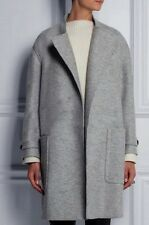 OVERSIZED  A line wool blend womens  trench jacket coat plus size 5X 6X grey
