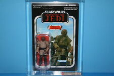 STAR WARS 11 VINTAGE COLLECTION AFA GRADED MINT ON CARD WEEQUAY 8.5 FIGURE