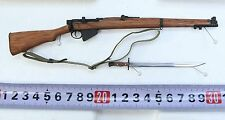 TI-LITE 1:6 Scale WWII British Lee-Enfield Mk III Wood & Metal Rifle w/ Bayonet