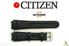 Citizen JR3080-01 Navihawk Skyhawk Original 24mm Blue Sharkskin Watch Band