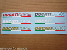 Ducati racing 748  916 998 999 1098 1199 Monster  decal Corse 240mm 1 Stück