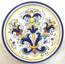 Deruta Pottery-6 inch Plate Ricco Deruta Made/painted by hand in Italy