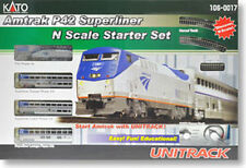 New Kato  106-0017 P42 Amtrak Superliner Starter Set