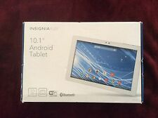 "Insignia Flex 10.1"" 32GB Android Tablet - White/Silver - NEW"