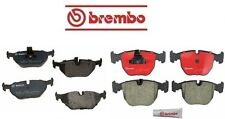 NEW BMW E39 540i 530i Front & Rear Disc Brake Pads KIT Bosch QuietCast Brembo