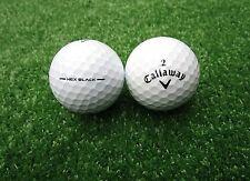 50 Callaway Hex Black Golfbälle AAAA-AAA