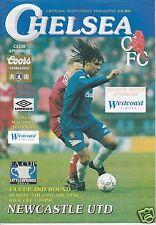 CHELSEA V NEWCASTLE UTD  FA CUP 7/1/96