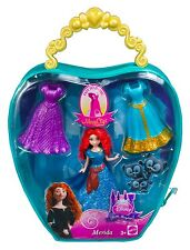 Disney Princess MagiClip MERIDA, Fashion Bag With 3 Dress clips