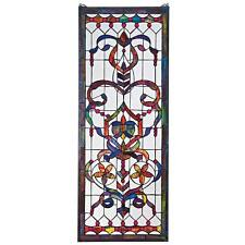 DELANEY MANOR STAINED GLASS WINDOW DESIGN TOSCANO stained glass window