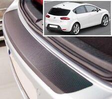 Seat Leon MK2 - Carbone Style pare-chocs arrière Protecteur