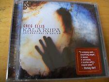 GREG ELLIS KALA RUPA : EXPLORATIONS IN RHYTHM CD SIGILLATO NARADA USA
