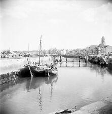 LE CROISIC c. 1950 -Bateaux de Pêche Loire Atlantique-Négatif 6 x 6 - N6 PdeL15