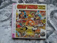 BIG BROTHER & THE HOLDING COMPANY Cheap Thrills CD JAPAN OBI Mini LP
