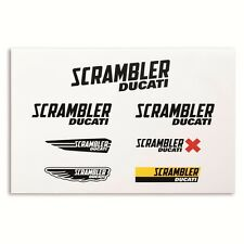 DUCATI SCRAMBLER LOGO STICKER SET 987691867