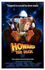 Howard the Duck Marvel Comic Book George Lucas Original Movie Poster 1986