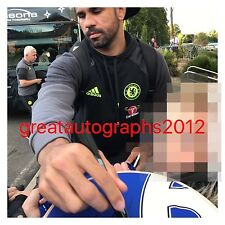 CHELSEA HAND SIGNED DIEGO COSTA 12X8 PHOTO PROOF 4.
