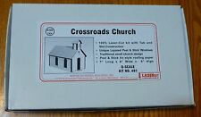 American Model Builders O #491 Crossroads Church -  (Kit Form) Laser Kit
