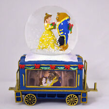 Love is a Gift Beauty and the Beast Mickey Mini Express Snow Globe Train 6Disney