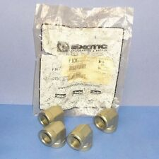 """PARKER 3/4""""NPT FLUID CONNECTOR PHC3/4 DD-S *NEW, BAG OF 4*"""