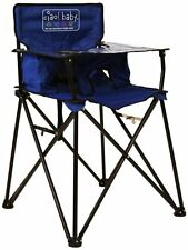 Blue Folding Portable Travel High Chair Camping Chair *watch video Ciao! Baby