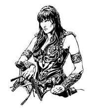"""XENA Warrior Princess  NEW CUSTOM  VINYL DECAL  STICKER  12"" 1/4  x  9"" 3/4"