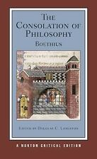 The Consolation of Philosophy (Norton Critical Editions)-ExLibrary