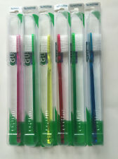Butler Classic Slender Soft 3-Row #311 ToothBrush ( Pack of 6 Assorted Colors)