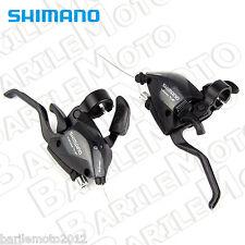 Comandi Cambio + Deragliatore Indice - Pollice SHIMANO ST EF51 3 x 7 + Leve Bici