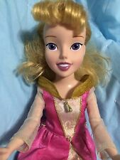 RARE Disney Princess Sleeping Beauty Aurora Playmates 2007 Singing Doll 16""
