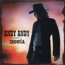 Iron¡a by Andy Andy CD Ironia Bachata Balada Reggaeton World Music Sealed CD New