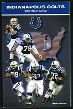 2005 Indianapolis Colts NFL Football Media GUIDE