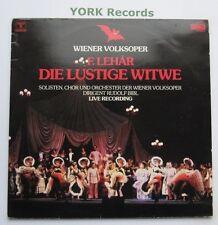 120755/6 - LEHAR - The Merry Widow BIKL Viena Volksoper - Ex Double LP Record