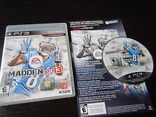 Playstation 3 PS3 complete in box Madden NFL 13  tested