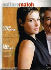 Coupure de presse 2008 (3 pages) Cécile De France Eddy Mitchell