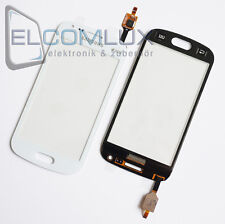 Touch Screen Glas Digitizer Display Samsung Galaxy S Duos 2 S7582 S7580 Weiß