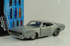 1968 Doms Dodge Charger R/T Fast and & Furious 7 bare metall 1:24 Jada