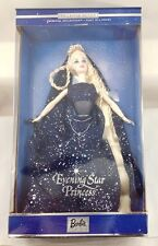 2000 Mattel Barbie Doll Blonde Evening Star Princess 27690