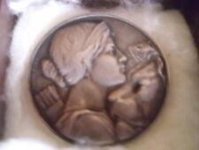 Schweiz Medaille 1909 ,Schützenmedaille,Silber