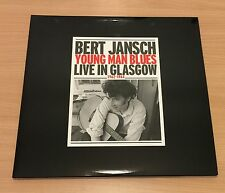 "2LP SET VINYL 12"" 180 GR BERT JANSCH YOUNG MAN BLUES LIVE IN GLASGOW 1962-1964"