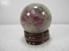 "WHOLESALE VERY RARE 1.54"" D. RUBY IN  QUARTZ SPHERE INDIA #8 - BEST PRICE!"