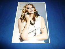 KYLIE MINOGUE sexy  signed Autogramm  In Person 20x28 cm