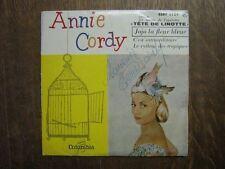 ANNIE CORDY EP FRANCE TETE DE LINOTTE (DEDICACE)