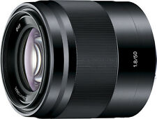 Open-Box: Sony - 50mm f/1.8 Optical Lens For Sony E-Mount - Black