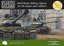 WW2V15024 SOVIET IS-2 TANK - PLASTIC SOLDIER - 15MM WW2 FLAMES - SENT 1ST CLASS
