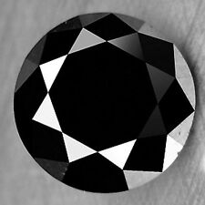 1.41 Cts ELEGANT FINE QUALITY  NATURAL BLACK DIAMOND REFER VIDEO MEMORIES GIFT