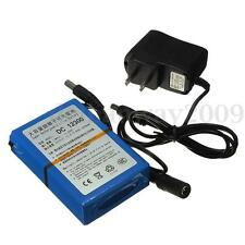 DC 12V 3000mAh 2A Super Rechargeable Protable Li-ion Battery + Plug