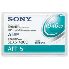 Sony 8mm AIT-5 Data Tape w/R-MIC 400GB (SDX5-400C) - NEW